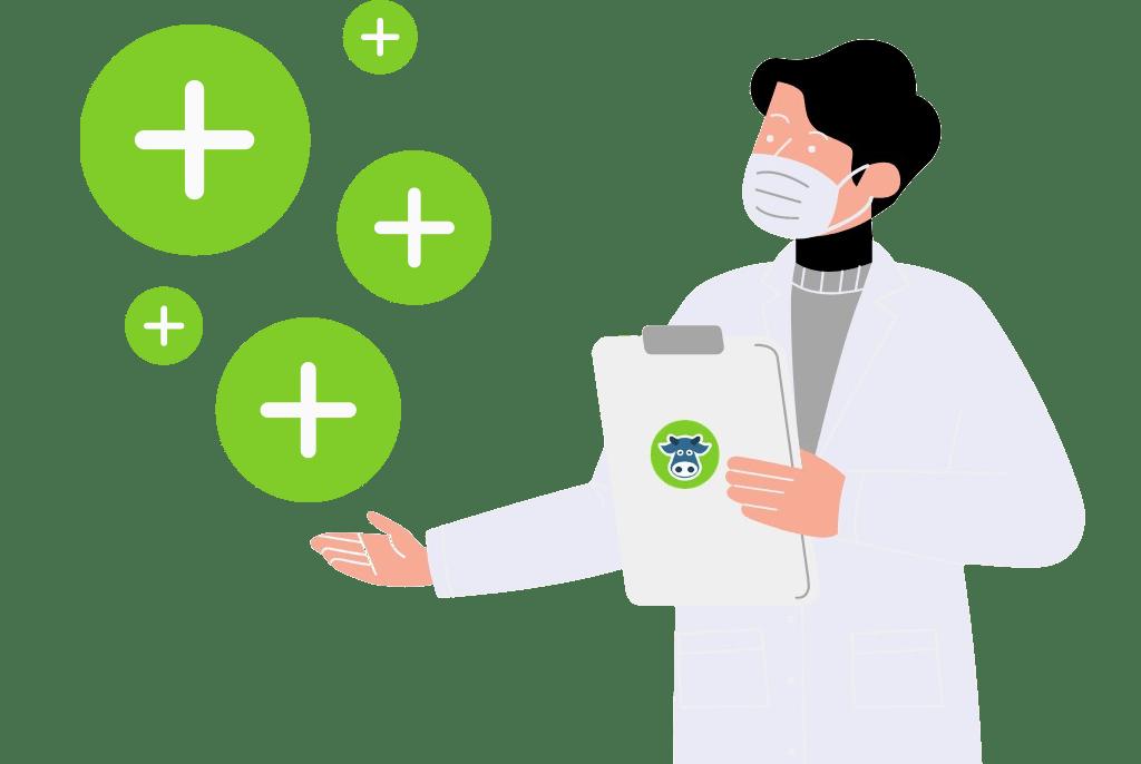 dairy company, database, organize, milk production, veterinarians, inseminators